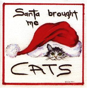 Santa Brought Me Cats
