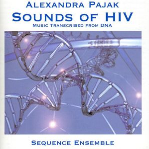 Sounds of Hiv: Music Transcribed from DNA