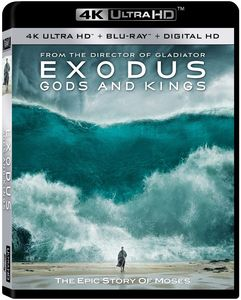 Exodus: Gods and Kings  [4K Ultra HD + Blu-ray + Digital HD]