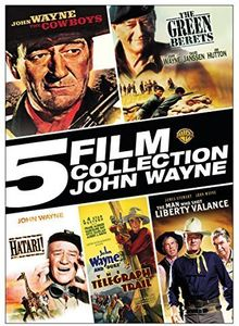 5 Film Collection: John Wayne