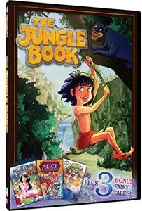 Jungle Book + Snow White, Alice in Wonderland,