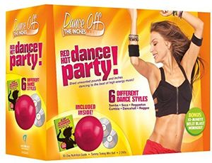 Dance Off the Inches: Red Hot Dance Party Kit