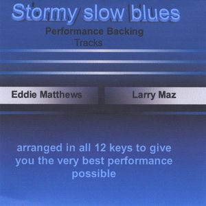 Stormy Slow Blues Backing Track 3