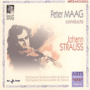 Peter Maag Conducts Johann Strauss JR