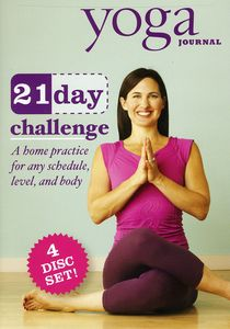 Yoga Journal: 21 Day Challenge Transform You Body