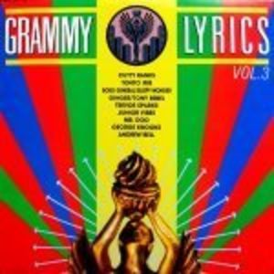 Grammy Lyrics 3 /  Various