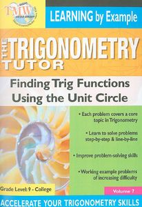 Triginometry: Finding Trig Using the Unit Circle