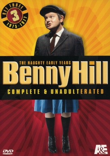 Benny Hill Set 3: Naughty Years - Comp & Unadult