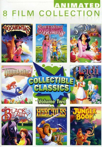 Animated Classics 8 Pack 2