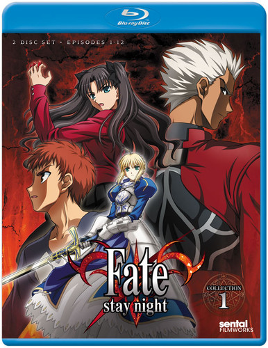 Fate, Stay Night Blu ray Collection 1