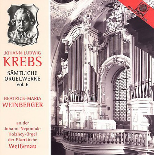 Organ Works of J.L. Krebs 6