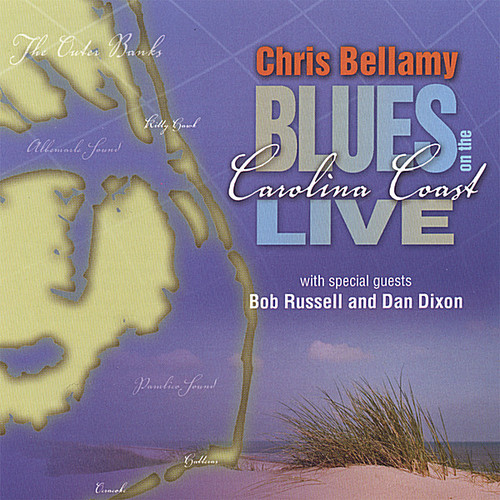 Chris Bellamy Blues on the Carolina Coast Live