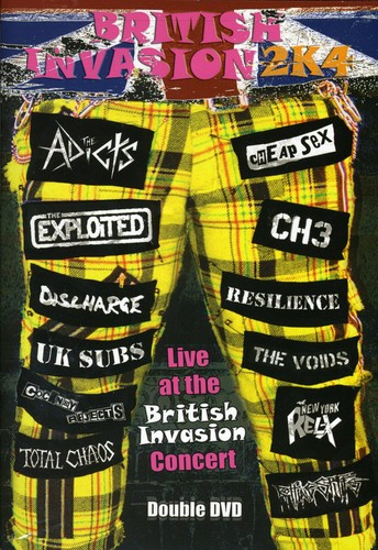 British Invasion 2K4 Live /  Various