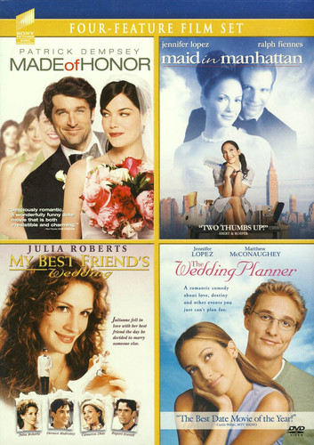 Made Of Honor/ Maid In Manhattan/ My Best Friend's Wedding/ Wedding