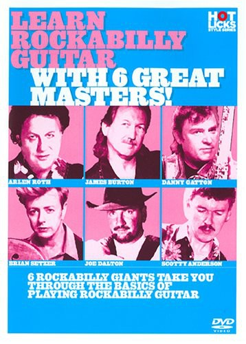 Learn Rockabilly Guitar with 6 Great Masters