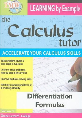 Differentiation Formulas
