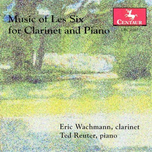 Music of Les Six for Clarinet & Piano /  Various