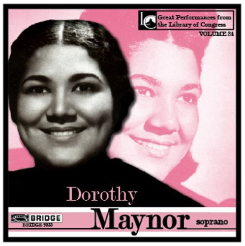 Dorothy Maynor in Concert at Library of Congress