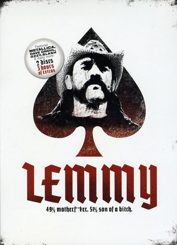Lemmy: 49 Percent Motherf***er 51 Percent Son of a