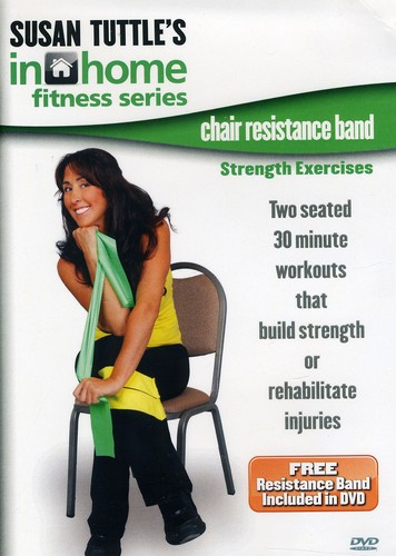 Chair Resistance Band Strength Exercises
