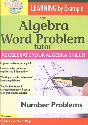 Algebra Word Problem Tutor: Number Problems