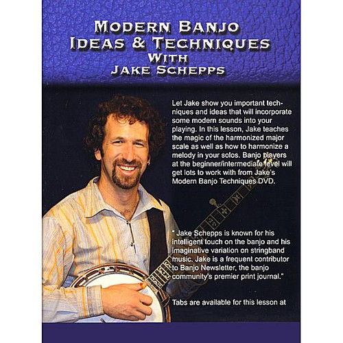 Modern Banjo Ideas & Techniques with Jake Schepps