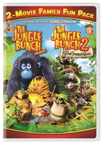 The Jungle Bunch & The Jungle Bunch 2: Two-Movie Family Fun Pack