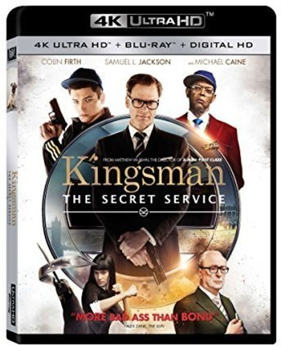 Kingsman: The Secret Service  [4K Ultra HD + Blu-ray + Digital HD]