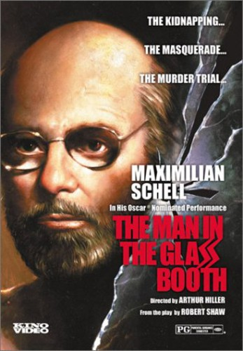 Man in Glass Booth