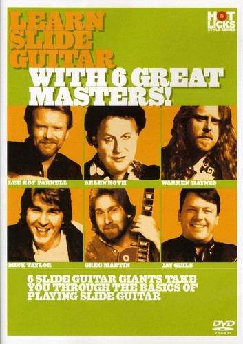 Learn Slide Guitar with 6 Great Masters