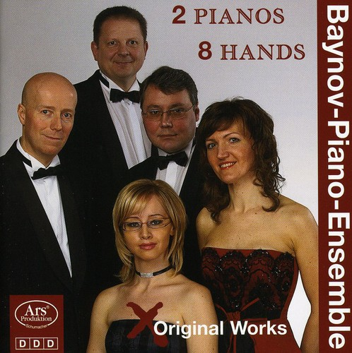 Smetana Grainger Works for 2 Pianos 8 Hands