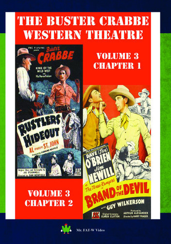 Buster Crabbe Western Theatre Vol 3