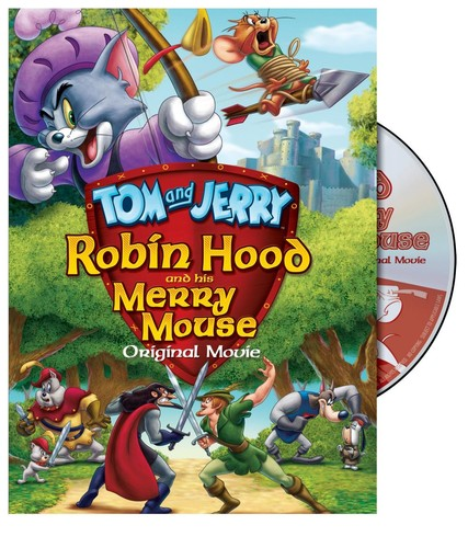 Tom & Jerry Robin Hood & His Merry Mouse