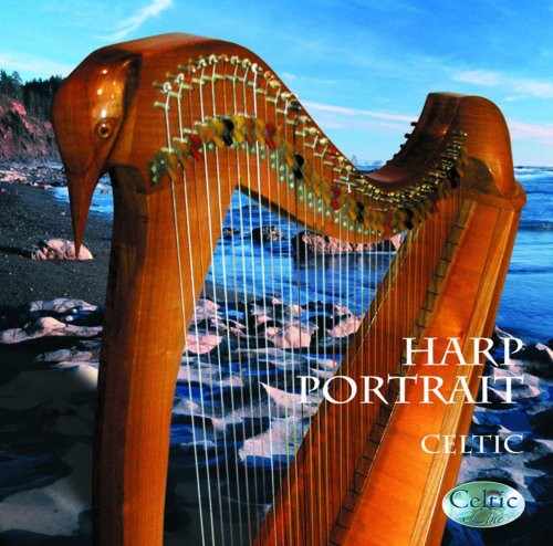 Harp Portrait Celtic