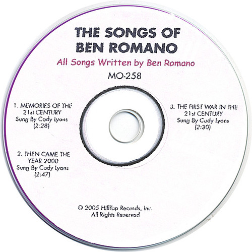 Songs of Ben Romano