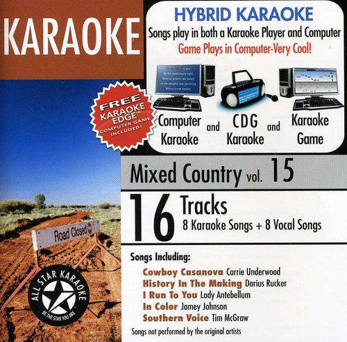 Karaoke: Mixed Country 15 /  Various