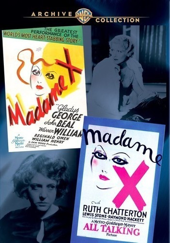 Wac Double Features: Madame X (1929 & 1937)