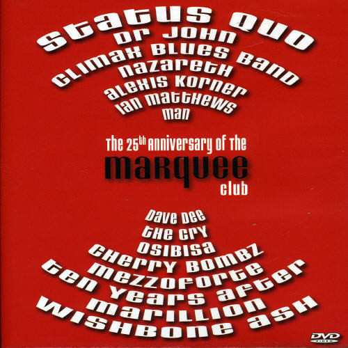 Marquee Club 25th Anniversary /  Various [Import]