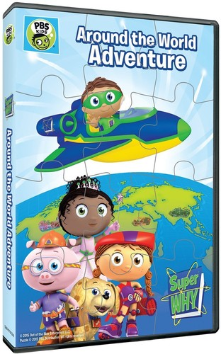Super Why: Around the World Adventure & Puzzle