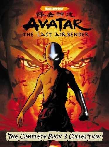 Avatar The Last Air Bender Complete Book 3 Collection