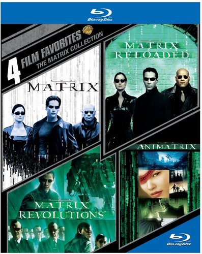 4 Film Favorites: The Matrix Collection