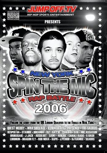 Spin Mic: New York Rap Battle 2006 Disc 1