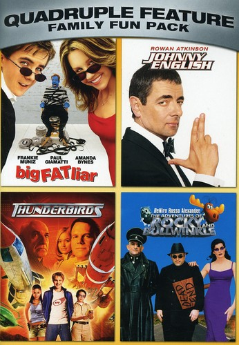 Family Fun Pack Quadruple Feature