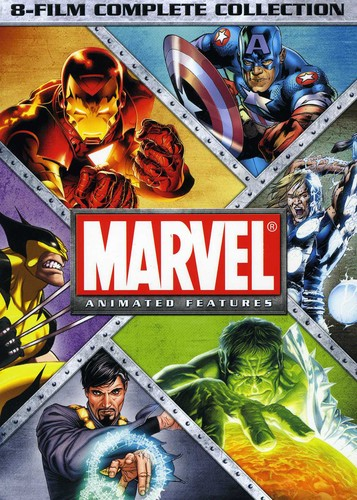 Marvel Animated Features 8-Film Complete Coll
