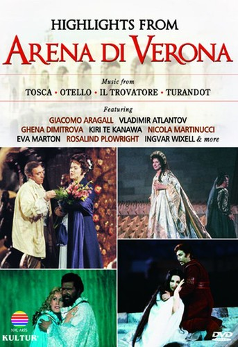 Highlights from Arena Di Verona : Favorite Opera