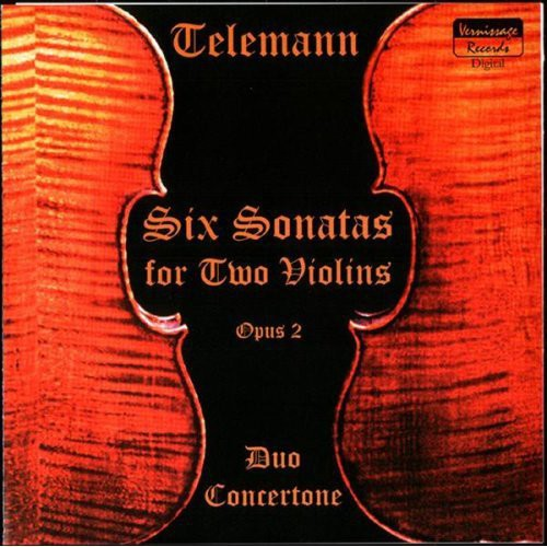 Telemann Six Sonatas for Two Violins Op.2