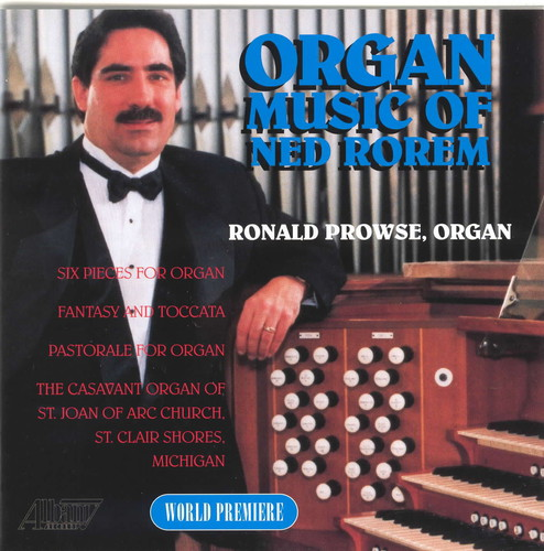 Organ Music of Ned Rorem