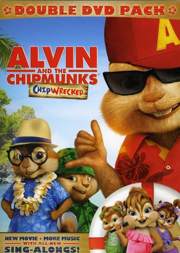 Alvin & the Chipmunks: Chipwrecked 2Pak