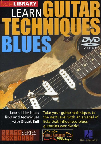 Learn Guitar Techniques: Blues Stevie Ray Vaughan