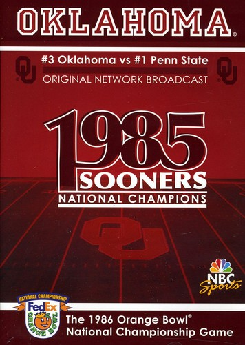 Oklahoma 1986 Orange Bowl National Championship